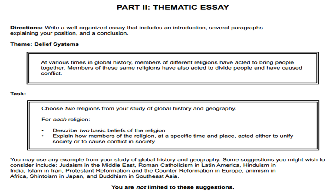 thematic essay belief systems islam thematic essay belief  hd image of systems thematic essay